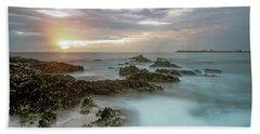 Sunset Matosinhos Beach Towel