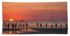 Sunset Over Mindil Beach Beach Towel
