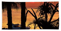 Sunset Sensation Beach Towel