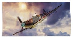 Supermarine Spitfire Beach Sheet