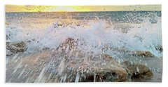 Surf Splash Beach Towel