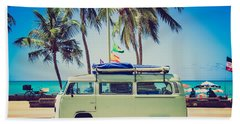 Surfer Van Beach Towel