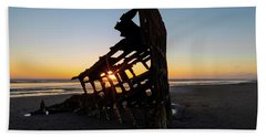 Swallowed By Time Beach Towel