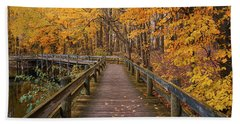 Sweet Autumn Memories Beach Towel