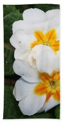Sweet Primrose Beach Towel
