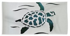 Swimmer Beach Towel