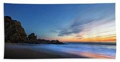 Beach Towel featuring the photograph Sycamore Canyon Beach by John Rodrigues