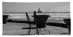 Table For One Bw Beach Sheet
