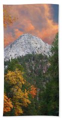 Tahquitz Peak - Lily Rock Painted Version Beach Sheet