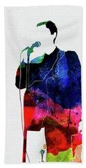 Talking Heads Watercolor Beach Towel