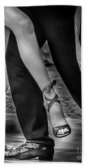 Tango Of Feet Beach Towel