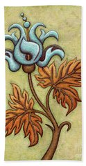 Tapestry Flower 2 Beach Sheet