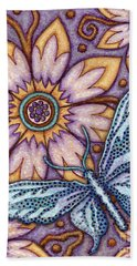 Tapestry Butterfly Beach Towel