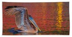Tchefuncte Pelican Beach Towel