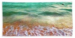 Teal Shore  Beach Towel