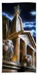 Temple Of Hercules In Kassel Beach Sheet