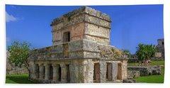 Temple Of The Frescoes Beach Sheet