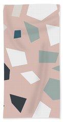 Terrazzo 2- Art By Linda Woods Beach Towel