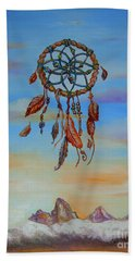 Teton Dreamcatcher Beach Towel