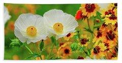 Texas Wildflowers Beach Sheet