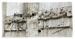 Textural Antiquities Rome Beach Towel