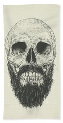 The Beard Is Not Dead Beach Towel