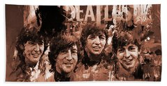 The Beatles Art  Beach Towel