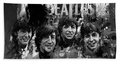 The Beatles Bk Beach Towel