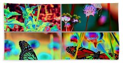 The Butterfly Collection 2 Beach Towel