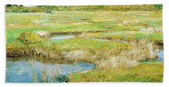 The Concord Meadow - Digital Remastered Edition Beach Towel