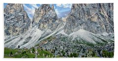 The Dolomites Beach Towel