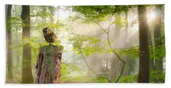 The Enchanted Forrest Beach Towel