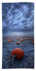 Beach Towel featuring the photograph The End Was Left Behind by Phil Koch