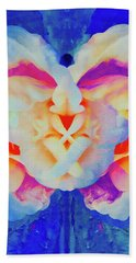 The Flower King Beach Towel