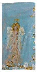 The Golden Child Angel Beach Towel