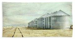 The Grain Bins At Taber Beach Sheet