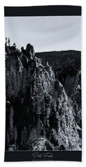 Beach Towel featuring the photograph The Grand Canyon Of The Yellowstone by Pete Federico