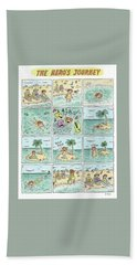The Heros Journey Beach Towel