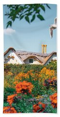 The Hobbit House Beach Towel