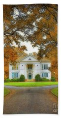 The Hoge Building At Berry College Beach Towel
