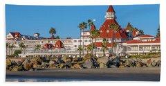 The Hotel Del Coronado San Diego Beach Towel