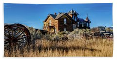 Beach Towel featuring the photograph The House by Pete Federico