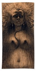 The Idol Of Perversity, 1891 Beach Towel
