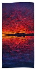 Beach Towel featuring the photograph The Last Chapter by Phil Koch