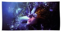 The Last Travel Of The Butterflies Beach Towel