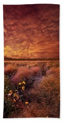 Beach Towel featuring the photograph The Light So Softly Spoken by Phil Koch