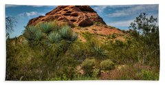 The Mighty Papago Beach Towel