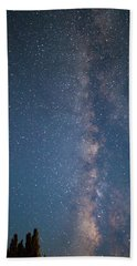 The Milky Way In Arizona Beach Sheet