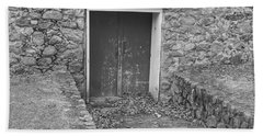 The Mill Door - Waterloo Village Beach Towel