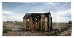 The Net Shack, Dungeness Beach Beach Towel